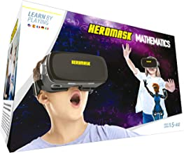 Visore VR Realta Virtuale + Gioco educativo bambini [Operazioni Matematica e calcolo mentale] Regalo Originale per bambino 5 6 7 8 9 10 11 12 anni [Natale - Compleanno] Occhiali Realtà Virtuale
