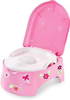 Summer My Fun Potty, Pink  – 3-Stage Potty Training Toilet – Includes Colorful..