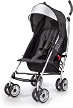 3Dlite Black Convenience Stroller (with Silver Frame)