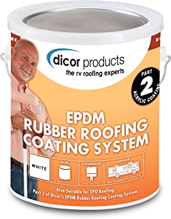 Dicor RPCRC1 White EPDM Rubber Roof Coating – 1 Gallon