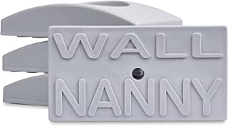 Wall Nanny (4 Pack – Made in USA) Indoor Baby Gate Wall Protector – No Safety..