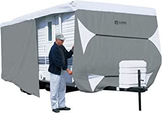 Classic Accessories Over Drive PolyPRO3 Deluxe Travel Trailer Cover or Toy Hauler Cover,..