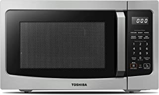 Toshiba ML-EM34P(SS) Smart Countertop Microwave Oven Works with Alexa, Humidity Sensor..