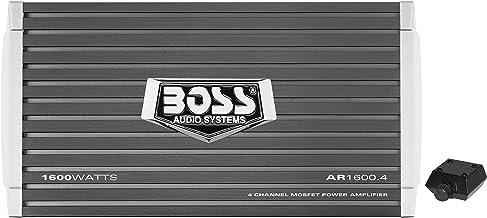 BOSS Audio Systems AR1600.4 4 Channel Car Amplifier – 1600 Watts, Full Range, Class..
