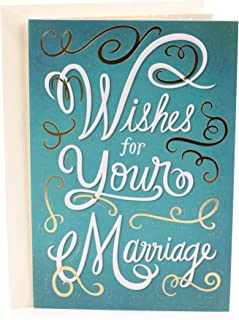 Hallmark Mahogany Wedding Greeting Card (Wishes for Your Marriage)