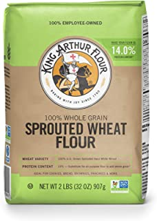 King Arthur Flour Sprouted Wheat Flour, 2 Lb