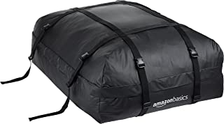 AmazonBasics ZH1705156 Rooftop Cargo Carrier Bag, Black, 15 cu. ft.