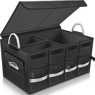 Oasser Trunk Organizer Cargo Organizer Trunk Storage Waterproof Collapsible Durable Multi..