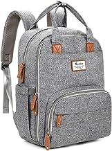 Diaper Bag Backpack, RUVALINO Multifunction Travel Back Pack Maternity Baby Changing..
