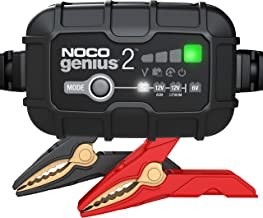 NOCO GENIUS2, 2-Amp Fully-Automatic Smart Charger, 6V And 12V Battery Charger, Battery..