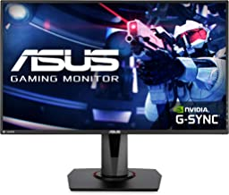 "Asus VG278QR 27"" Gaming Monitor, 1080P Full HD, 165Hz (Supports 144Hz), G-SYNC.."