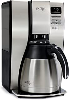 Mr. Coffee BVMC-PSTX95 10-Cup Optimal Brew Thermal Coffee Maker, Stainless Steel