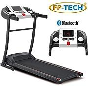 Tapis ROULANT Elettrico 1 HP 1000W Top di Gamma con Bluetooth ED App Lettore MP3 E USB