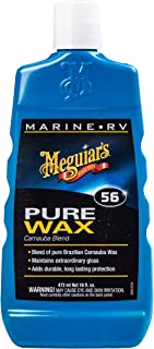 Meguiar's M5616 Marine/RV Pure Wax Carnauba Blend, 16 Fluid Ounces