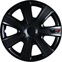 Alpena 58260 VR Carbon Wheel Cover Kit – Black – 16-Inch – Pack of 4