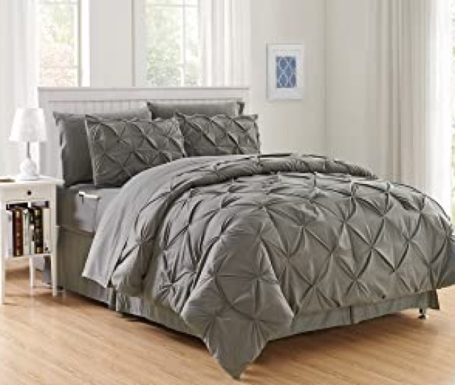 Luxury Best Softest Coziest 8 Piece Bed In A Bag