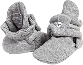 Burt's Bees Baby Baby Booties, Organic Cotton Adjustable Infant Shoes