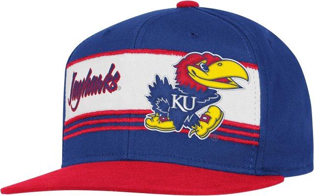 Amazon.com : NCAA Kansas Jayhawks Team Color Snapback Hat, One