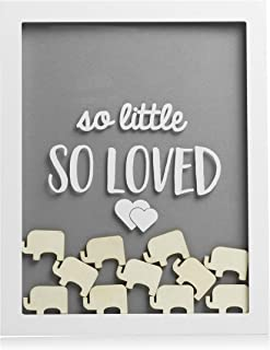 Pearhead Little Wishes Signature Baby Shower Guestbook Sign Frame, Great Guestbook..