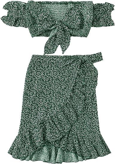 green set skirt top summer beautiful dresses