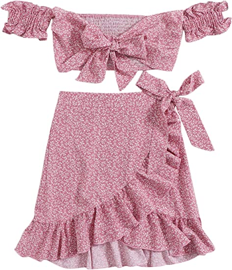 pink skirt top set, beautiful summer dresses 2021
