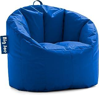 Big Joe Milano Bean Bag Chair, Regular, Smartmax Sapphire