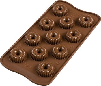 silikomart Moule à Chocolat Crown