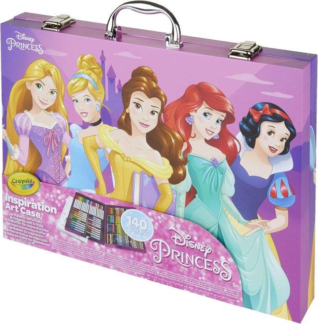 CRAYOLA Disney Prinzessinnen Malkoffer, 24-2486-E-24, mehrfarbig