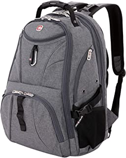 SwissGear 1900 Scansmart TSA Laptop Backpack – Grey Heather