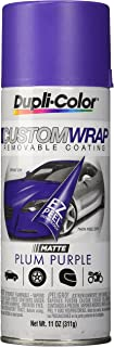 Dupli-Color ECWRC8010 Custom Wrap Matte Plum Purple