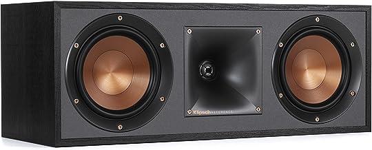 Klipsch R-52C Powerful detailed Center Channel Home Speaker – Black