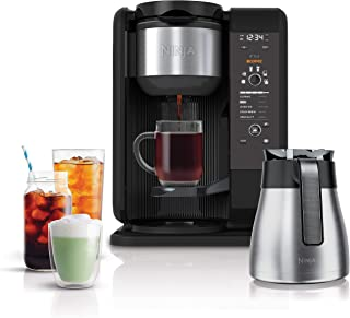 Ninja Hot and Cold Brewed System, Auto-iQ Tea and Coffee Maker with 6 Brew Sizes, 5 Brew..