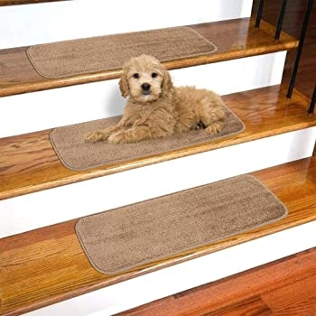 Explore Carpet Pieces For Stairs Amazon Com | Carpet For Stairs Amazon | Indoor Stair | Anti Slip | Stair Runner Rugs | Self Adhesive | Beige