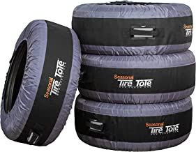 Kurgo Seasonal Tire Tote | Spare Tire Cover | Portable Wheel Bags | Winter Tire Cover |..