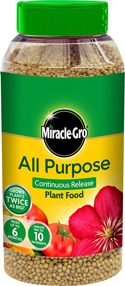 Miracle Gro All Purpose Continuous Release Plant Food 1 Kg Green Amazon Co Uk Garden Outdoors