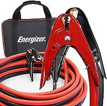 Energizer 1-Gauge 800A Heavy Duty Jumper Battery Cables 25 Ft Booster Jump Start –..