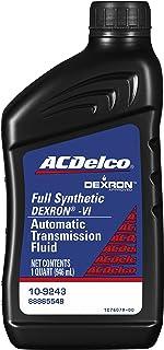 ACDelco 10-9243 Dexron VI Synthetic Automatic Transmission Fluid – 1 qt