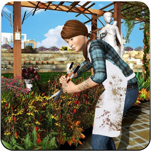 3D Virtual Casa Jardín Juegos Jardinería Scapes Familia Juego Virtual Casa Jardín Decoración Jardín Juegos
