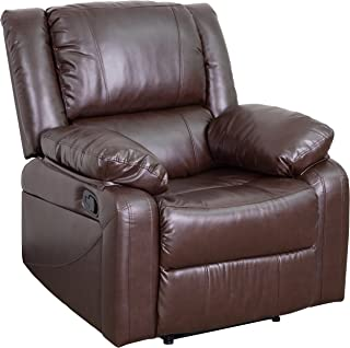 Flash Furniture BT-70597-1-BN-GG  Harmony Series Brown Leather Recliner