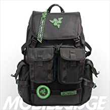 Mobile Edge Razer Tactical Pro 17 Inch Laptop Gaming Backpack, Black, Rugged Ballistic..