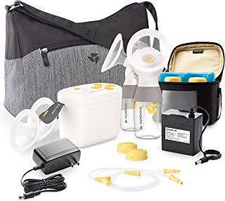 New Medela Pump in Style with MaxFlow, Electric Breast Pump Closed System, Portable..