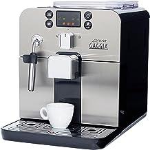 Gaggia Brera Super Automatic Espresso Machine in Black. Pannarello Wand Frothing for..