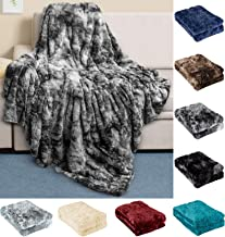 Everlasting Comfort Luxury Faux Fur Throw Blanket – Ultra Soft and Fluffy –..