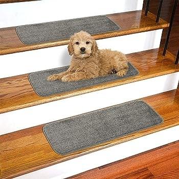 Explore Carpet Squares For Stairs Amazon Com | Carpet Squares For Steps | Kajaria Staircase | Stair Runner | Dean Wrap Around Treads | Communal Stairway | Flower Design