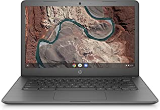 HP Chromebook 14-inch Laptop with 180-Degree Swivel, AMD Dual-Core A4-9120 Processor, 4..