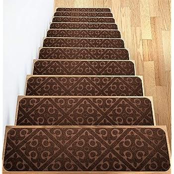 Amazon Com Gloria Rug Stair Treads Non Slip Outdoor Skid   Gloria Rug Stair Treads   Rubber Backing   8.5 X26   Decor Rugs   Overstock   Area Rug