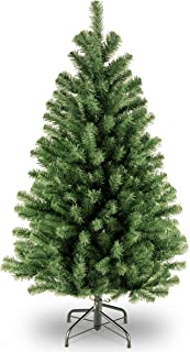 National Tree Company Artificial Christmas Tree   Includes Stand   North Valley Spruce – 4 ft