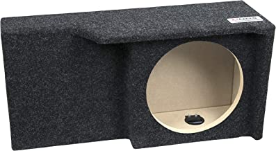 "Atrend 10SME 10"" Single Sealed/ Shallow Mount Subwoofer Enclosure Fits 2004 –.."