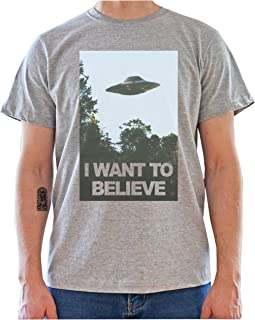 DreamGirl The X-Files I Want to Believe Poster Mens T-Shirt