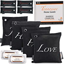 TENNESSEE HOME GOODS – Bamboo Charcoal Air Purifying Bags – 10-Pack Natural..